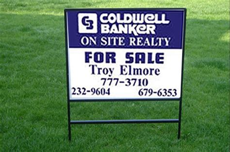 Aluminum Real Estate Signs Compare Real Estate Sign Posts