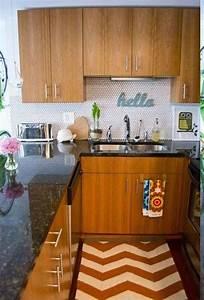 petite cuisine moderne quels meubles de cuisine ouverte With petite cuisine en bois