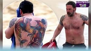 Ben Afleck's Back Tattoo Resurfaces | Sunny 107.9