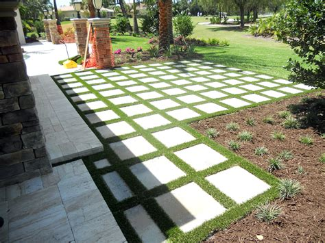 plastic grass roy new mexico paver patio pavers