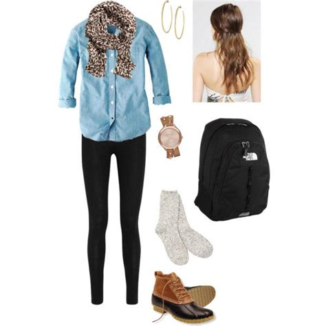 Outfit School Autumn