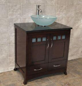 Granite Vanity Top For Vessel Sink by 30 Quot Bathroom Vanity Cabinet Black Granite Top