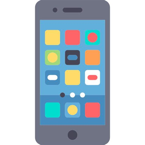 smartphone icon vector png smartphone free technology icons