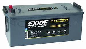 Batterie Exide Gel : batterie exide equipment gel 210ah es2400 accastillage bateau ~ Medecine-chirurgie-esthetiques.com Avis de Voitures