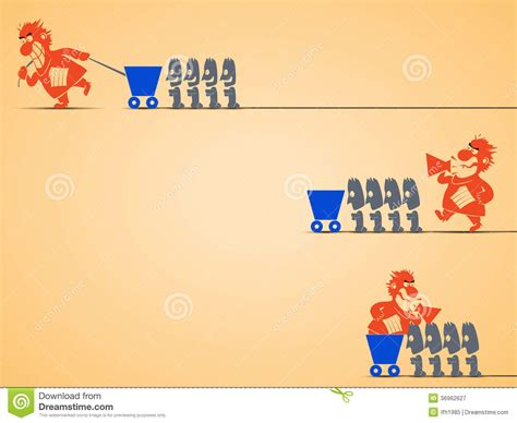 types  management stock vector illustration