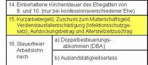 Zuschuss Mutterschaftsgeld Berechnen : steuererkl rung 2015 arbeitnehmer lohnsteuerbescheinigung bescheinigung lohnsteuerdaten ~ Themetempest.com Abrechnung