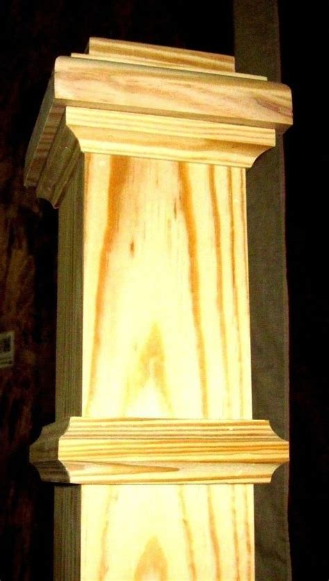 Box Newel Post 5? Southern Yellow Pine   Splash Carpentry