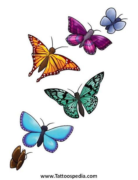 butterfly tattoo flash art  tattoospedia flash