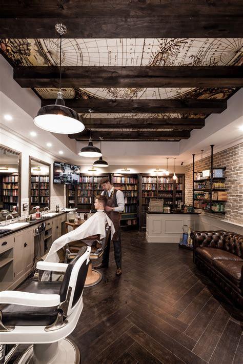 daniel malik design portfolio barbershop design