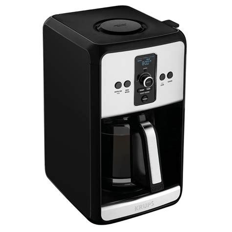krups savoy  cup programmable coffee maker ec