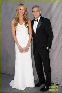 George Clooney & Stacy Keibler - Critics' Choice Awards ...