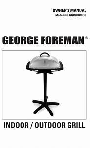 George Foreman Ggr201rcds Owner U0026 39 S Manual Pdf Download