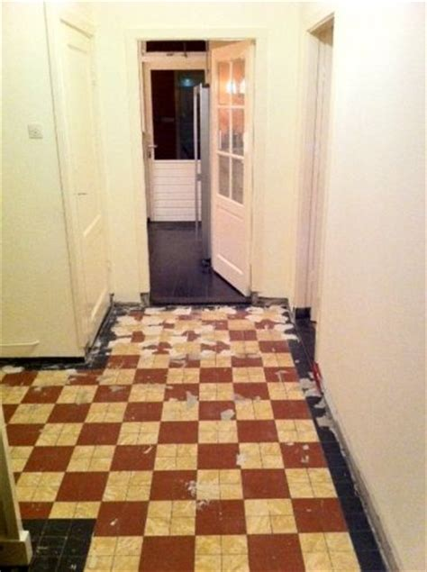 jaren 30 vloer tegelvloer jaren 30 herstellen