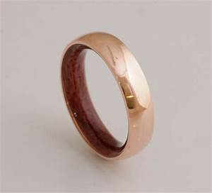 copper wedding band copper wood ring man ring mens With copper wedding rings