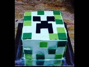 Minecraft Cake / Cake Decorating - YouTube