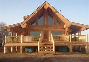 Stunning Log Homes designed by Pioneer Log Homes of