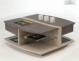 Table Basse Carrée Design : table basse carree but maison design ~ Teatrodelosmanantiales.com Idées de Décoration