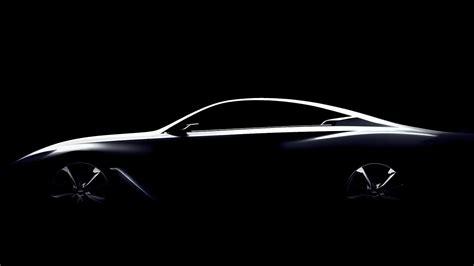 infiniti  introduce concept coupe  detroit auto show
