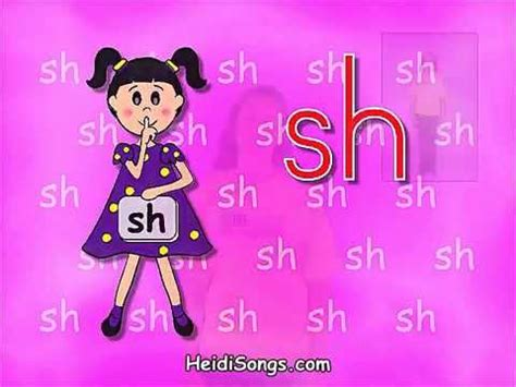 Phonics Song  Sounds Fun 'sh' Quiet Girl Youtube