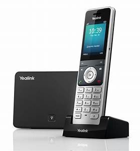 Yealink W56p Base Station And Dect Colour Screen Handset
