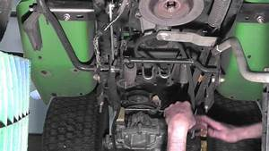 How To Replace A Drive Belt On A John Deere Lx