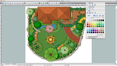 landscape layout software landscape design software draw landscape deck and patio plans with conceptdraw