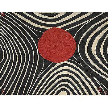 Alexander Calder 'Zebra' 56x84 Maguey Fiber Wall Art