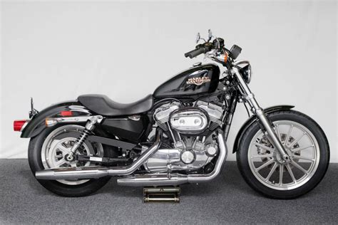 Used Harley-davidson Sportster Vivid Black Iron Motorcycles