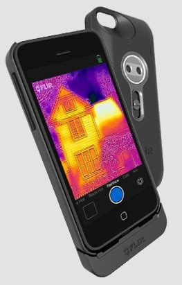 thermal iphone thermal imaging iphone app manufacturers monthly