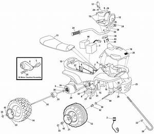 Power Wheels Barbie Trail Rider Parts