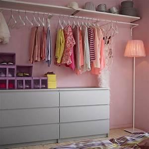 Petite Penderie Ikea : comment am nager un dressing pratique et ranger les v tements avec style ~ Teatrodelosmanantiales.com Idées de Décoration