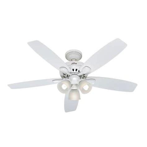 hunter highbury ceiling fan hunter highbury 52 in white ceiling fan