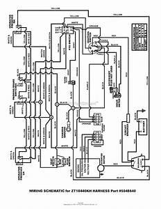 Snapper Zt18440kh  5091000  44 U0026quot  18 Hp Ztr Fastcut Series 0