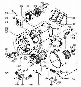 Drum  Tub Assy Diagram  U0026 Parts List For Model Wm2487hwm Lg