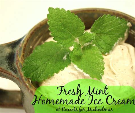 fresh mint recipe from the garden fresh mint homemade ice cream recipe