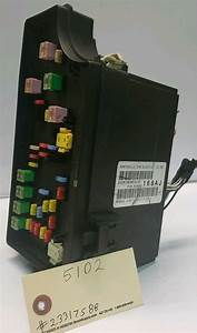 Tipm Integrated Power Module Fuse Box 2008 Chrysler