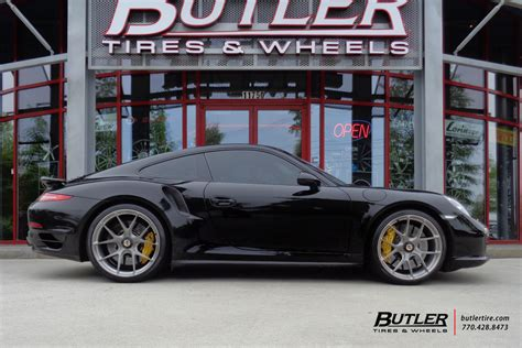 porsche  turbo   hre p wheels exclusively