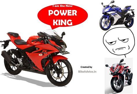Most Powerful Gsx-r150 Vs R15 Vs Cbr150r