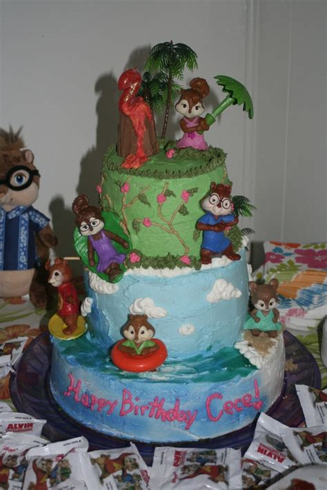alvin and the chipmunks cake decorations 28 images 16