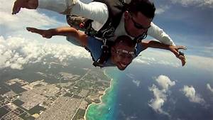 What Are The Bright Lights In The Sky Tonight Skydiving In Playa Del Mexico Youtube