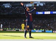 Real Madrid vs Barcelona Messi shines as leaders hammer