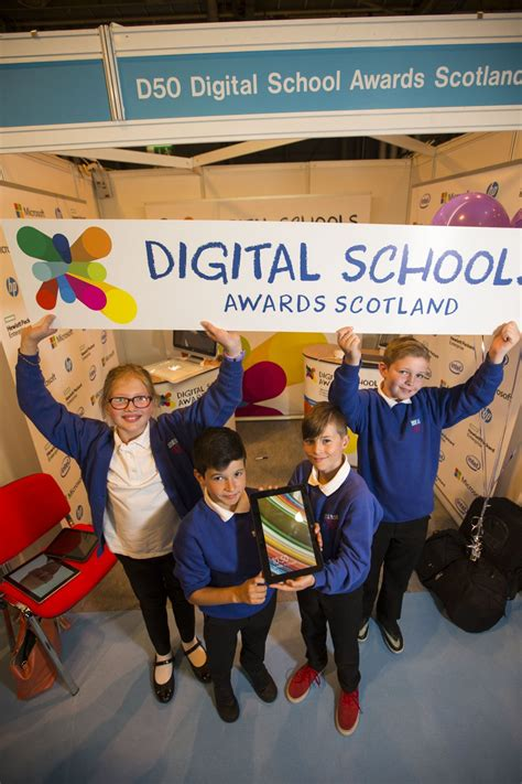 Digital Schools Awards Launches In Scotland Digital
