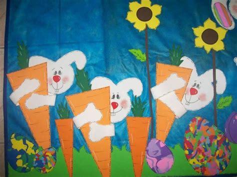 bulletin board with bunnies hugging carrots 475 | 5cfb7492b649ffd2b29254273c56dde3