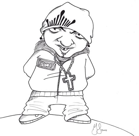 gallery gangsta cartoons drawings drawing art gallery
