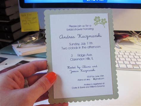 andrea s wedding diy shower invitations crafts