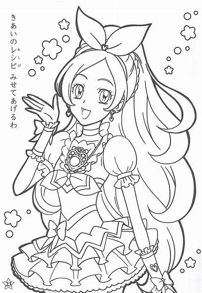 Cure Rhythm Pretty Precure Base Anime Suite