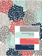 Grey And Aqua Shower Curtain by Shower Curtain In Navy Coral Pink Aqua Gray By SwirledPeasDesigns