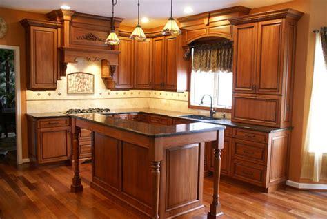 traditional kitchen designs photo gallery کابینت ام دی اف رنگ روشن در پورتال جامع فرانیاز 8578