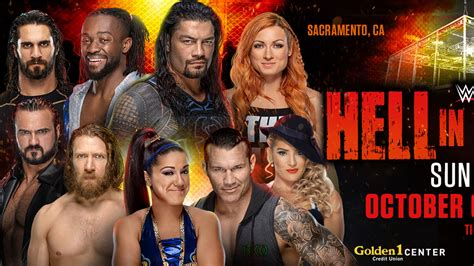 combat pour bray wyatt annonce  hell   cell