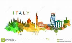 Vector Italy stock vector. Illustration of basilica ...